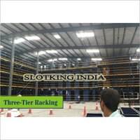 Three-Tier Racking System