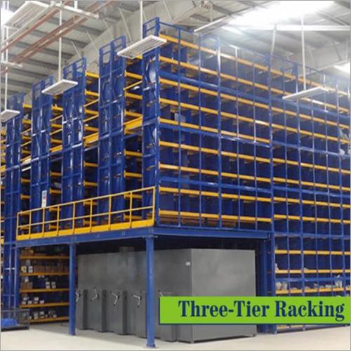 Three-Tier Racking System