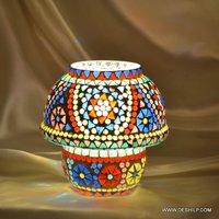 Mini Glass Mosaic Table Lamp
