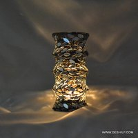 Ring Mosaic Antique Candle Holder