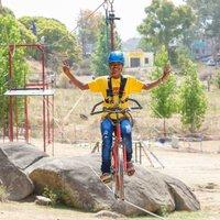 Single Zip Bike