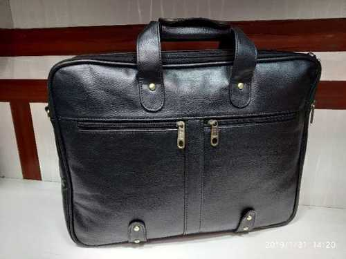 Leatherite laptop bag