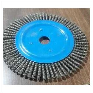 Circular steel wire brush