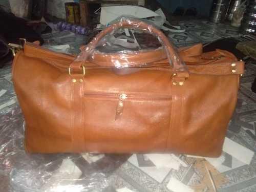 Leather gym.bag