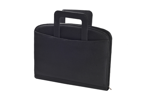 A-4 Folder With Zip & Handle (X542)