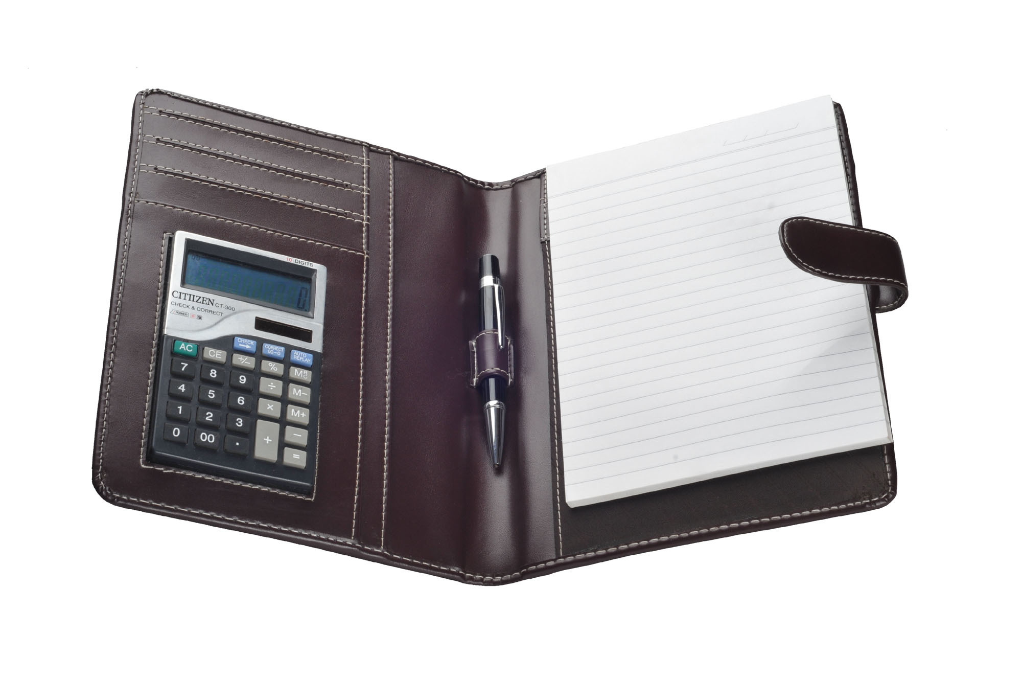 A-5 Folder With Calculator (X546)