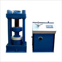Hydraulic Cube Testing Machine