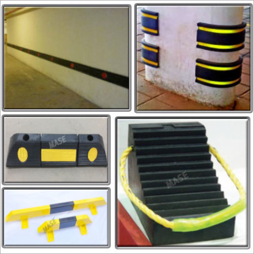 Mase Car Stopper Wall Rubber Guards