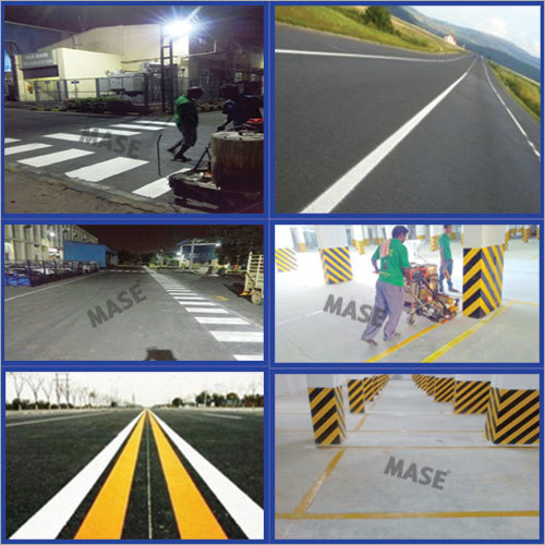 Thermoplastic Road Marking
