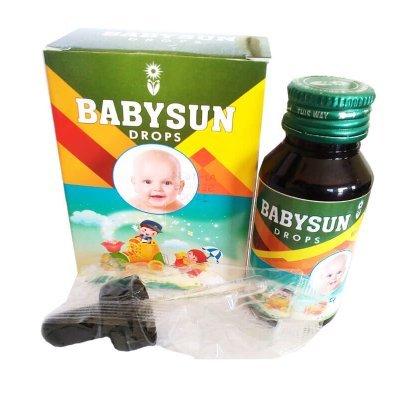 Ayurvedic drops for Colic Pain & Digestive - Ayursun Babysun Drops