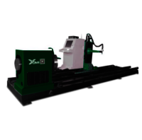3 Axis round pipe cutting machine