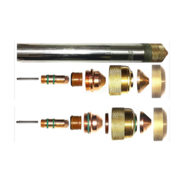 Plasma cutting torch and consumables