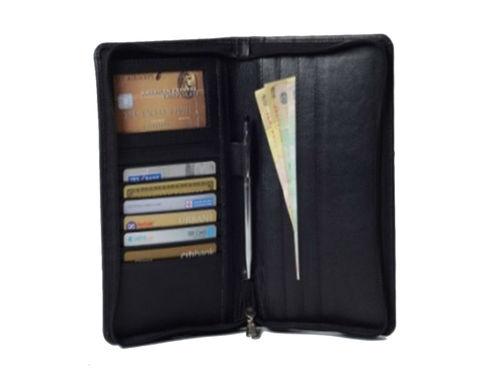 Genuine Leather Passport Wallet