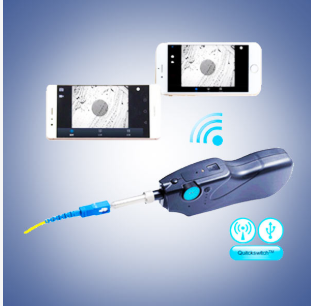 Few-300p Handheld Fiber Inspection(Wireless)