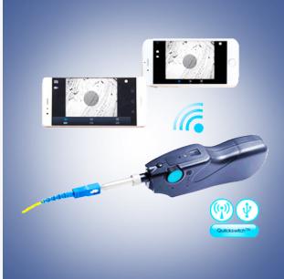 Few-300p Handheld Fiber Inspection(Wireless)