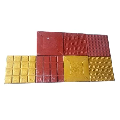 Chequered Concrete Tiles Size: 1*1*2.5Mm