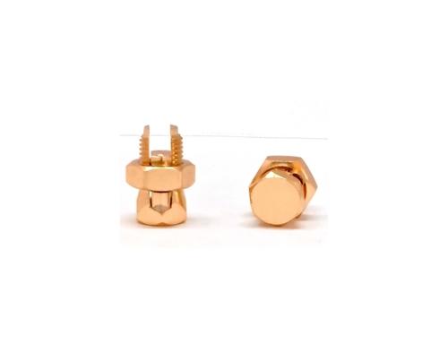 Brass Split Bolt Connector With Round Head