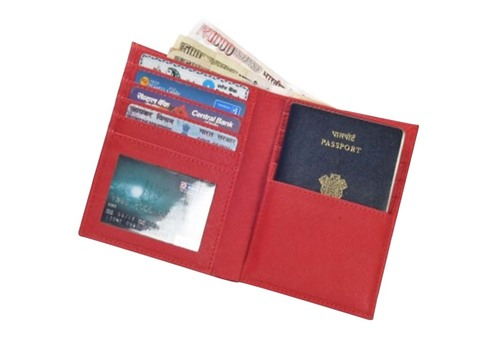 Pu Leather Passport Wallet