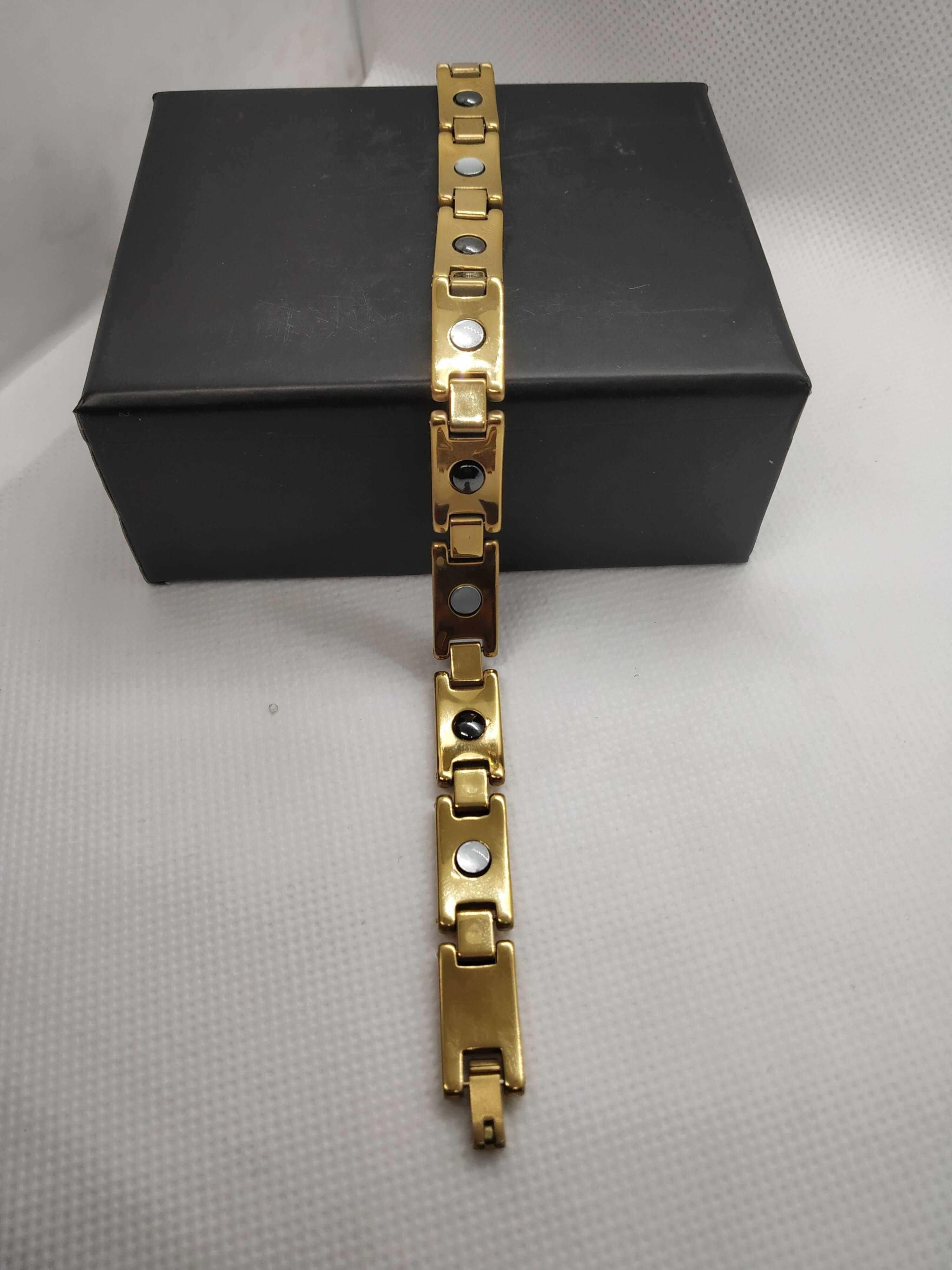Tungsten bio magnetic health bracelet