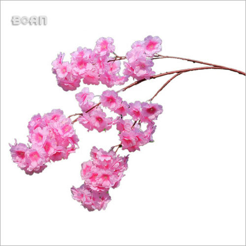 Wedding Table Tree Centerpieces Artificial Mini Pink Cherry Blossom Branch