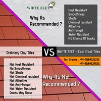 CEMENT ROOF TILES - WHITEFEET