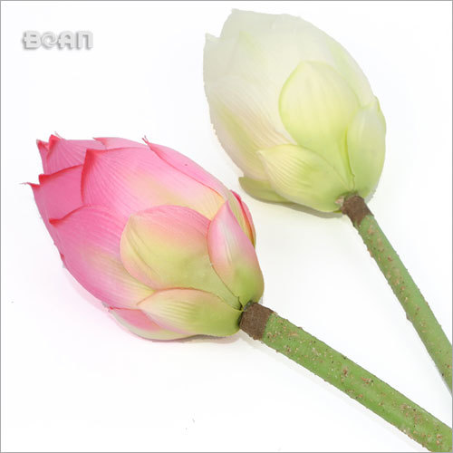 Artificial Silk Flowers Lotus Bud