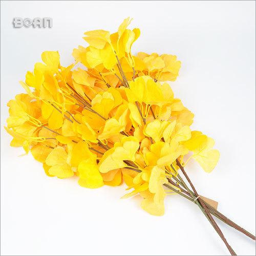 Silk Silver Green Artificial Flowers