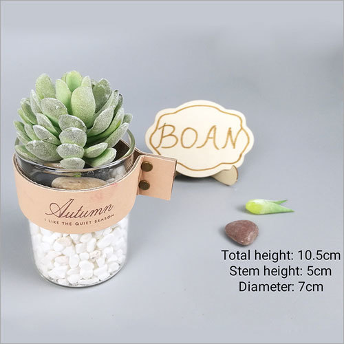 Siulation Meaty Plant Artificial Succulent Flower