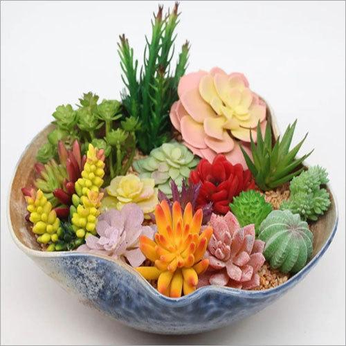 Siulation Meaty Plant Artificial Succulent Flower Plants