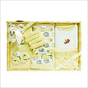 13 Pieces Newborn Baby Yellow Suit Set