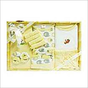 13 Pieces Newborn Baby Yellow Suit Set