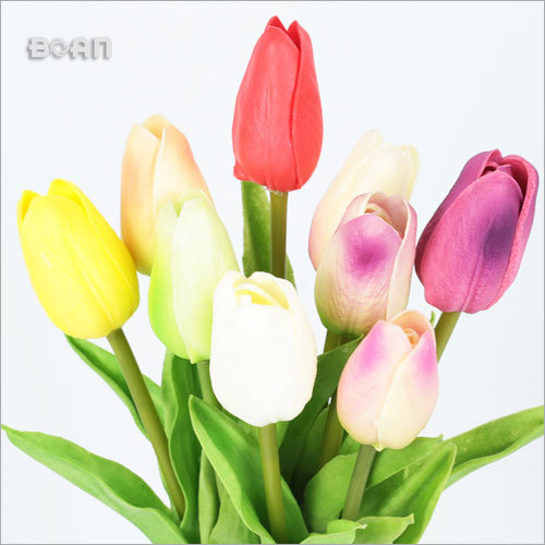 Handmade Floris Artificial Silk Flowers Tulip