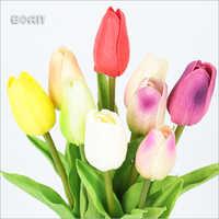 Handmade Floris Artificial Silk Flowers Tulip