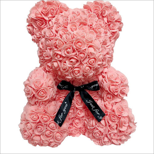 Anniversary Gift 40cm PE Foam Flower Rose Bear