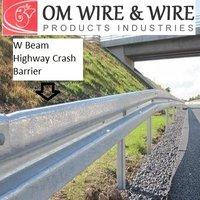 W Beam Highway Crash Barrier