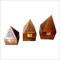 Sheesham Wood Lobandan Pramid Set Of 3pcs