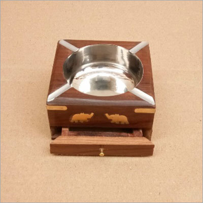 Designer Sheesham Wood Ash Tray