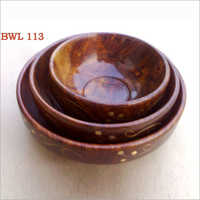 Sheesham Wood Bowl Set Of Pcs