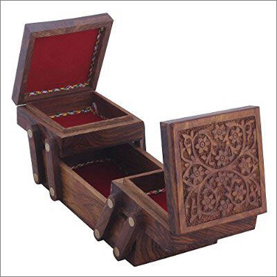 Sheesham Wood Sliding Box