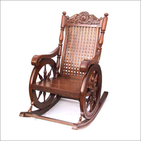 Sheesham Wood Rocking Chair