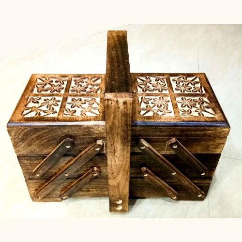 Mango Wood Sliding Box