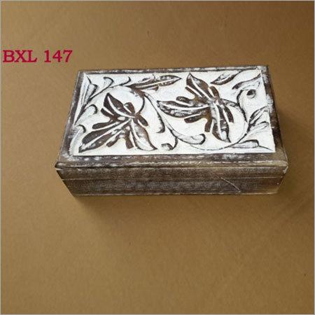 Mango Wood Jewellery & Utility Box
