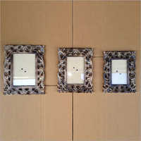Mango Wood Photo Frame Set Of 3pcs
