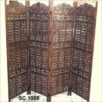 Wooden Screen or Panel