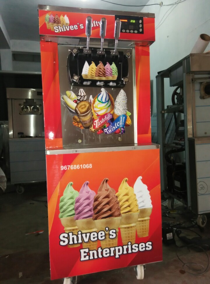 Pan Ice Cream Machine