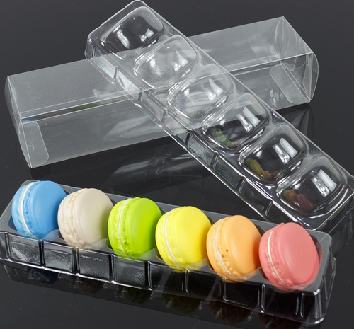 Food grade PET macaron packaging box