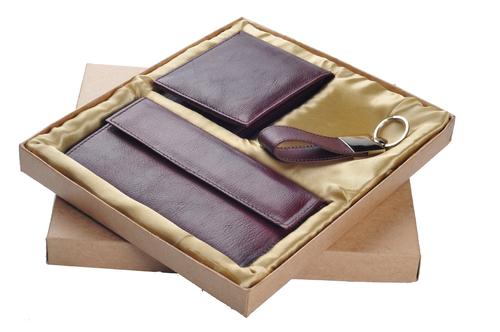 Goat Leather Gift Set