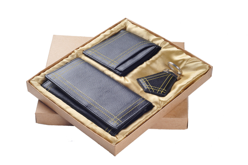 Ndm Leather Gift Set