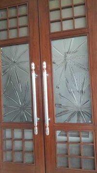 Decorative Door Art Glass