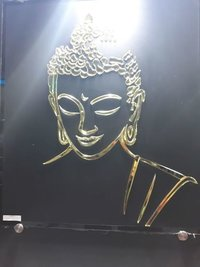 Traditional Buddha Glass Paintings